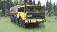Tatra T813 TP 8x8 1967 v1.5 for Spin Tires