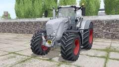 Fendt 822 Vario tires Michelin AxioBib 2 for Farming Simulator 2017