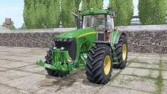 John Deere 8420 interactive control for Farming Simulator 2017