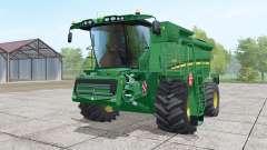 John Deere S690i moving elements for Farming Simulator 2017