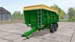 ZDT Mega 13 dark lime green for Farming Simulator 2017