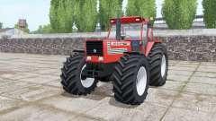 Fiat 180-90 Turbo wide tyre Michelin for Farming Simulator 2017