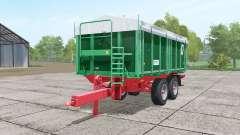 Kroger TKD 302 dark lime green for Farming Simulator 2017