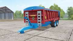 Marshall QM-16 dark red for Farming Simulator 2017