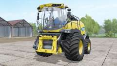 New Holland FR850 double front wheels for Farming Simulator 2017