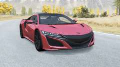 Honda NSX 2016 for BeamNG Drive