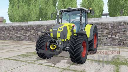 Claas Arion 650 loader montieren for Farming Simulator 2017