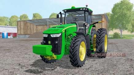 John Deere 8370R double wheels for Farming Simulator 2015