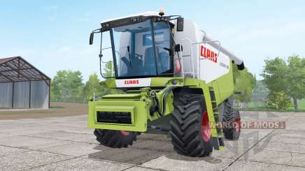 Claas Lexion 580 green and white for Farming Simulator 2017