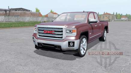 GMC Sierra 1500 Double Cab 2013 for Farming Simulator 2017