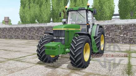 John Deere 7710 Michelin tires for Farming Simulator 2017
