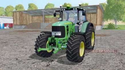 John Deere 7530 Premium front loader for Farming Simulator 2015
