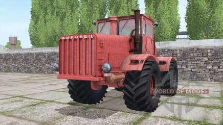 Kirovets K-700 red for Farming Simulator 2017