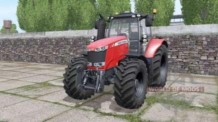 Massey Ferguson 7720 interactive control for Farming Simulator 2017