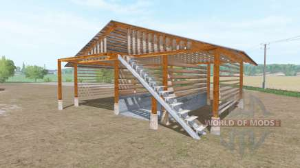 Wooden shed for Farming Simulator 2017