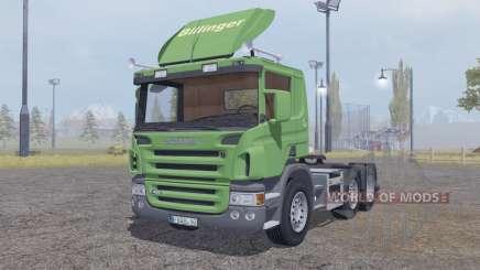 Scania P420 6x6 v2.0 for Farming Simulator 2013