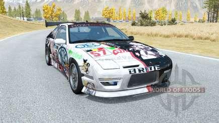 Ibishu 200BX Five-seveN Itasha v1.3 for BeamNG Drive