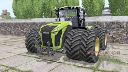 Claas Xerion 4500 Trac VC wheels selection for Farming Simulator 2017