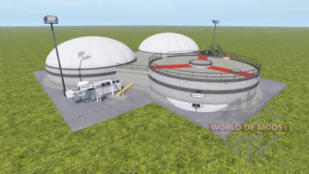 Biogas production v1.1 for Farming Simulator 2017