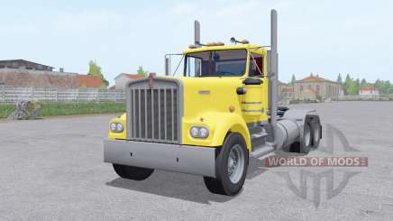Kenworth W900A 6x6 for Farming Simulator 2017