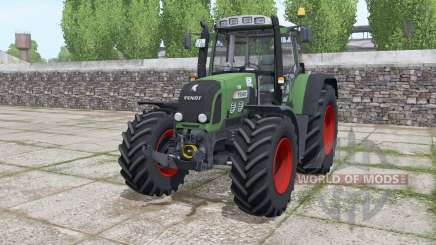 Fendt 820 Vario TMS løader møunting for Farming Simulator 2017