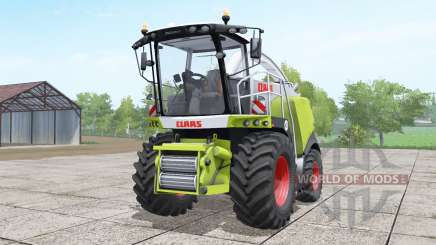 Claas Jaguar 970 interactive control for Farming Simulator 2017
