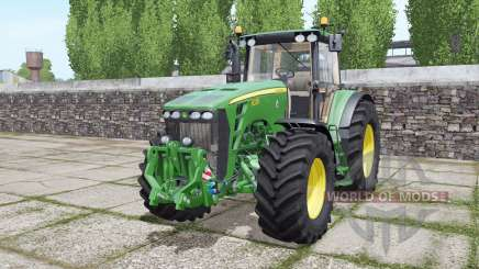 John Deere 8330 double wheels for Farming Simulator 2017