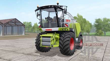 Claas Jaguar 960 green and white for Farming Simulator 2017