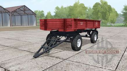 2ПТС-moderately 4-red for Farming Simulator 2017