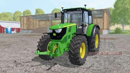 John Deere 6115M loader mounting for Farming Simulator 2015