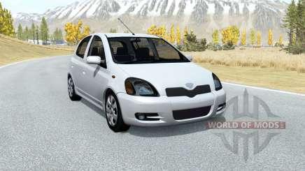 Toyota Vitz RS 5-door (P10) 2000 for BeamNG Drive
