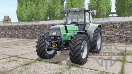 Deutz-Fahr AgroStar 6.71 narrow twin wheels for Farming Simulator 2017