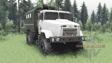 KrAZ 5131 4x4 v6.1 for Spin Tires