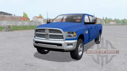 Dodge Ram 2500 Mega Cab 2009 for Farming Simulator 2017