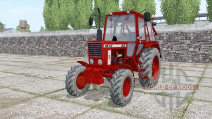 MTZ 82 Belarus dark red for Farming Simulator 2017