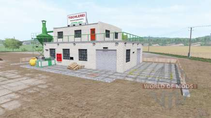 Woodworking shop v1.1 for Farming Simulator 2017