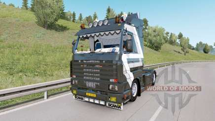 Scania 143M V8 420 custom for Euro Truck Simulator 2
