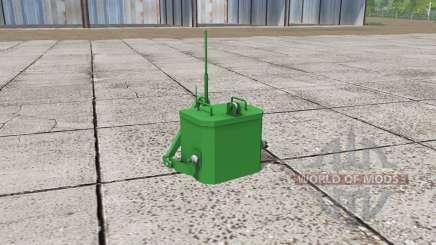 John Deere self made weight for Farming Simulator 2017