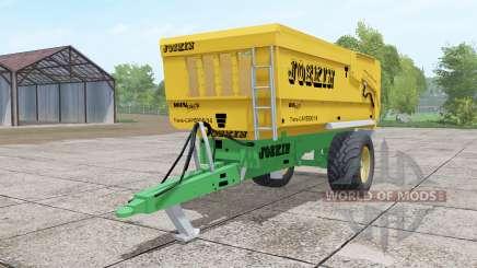 Joskin Trans-Cap 5000-14 yellow for Farming Simulator 2017