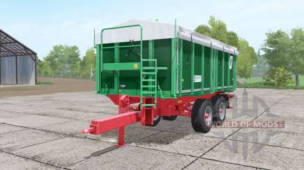 Kroger TKD 302 dark lime green for Farming Simulator 2017