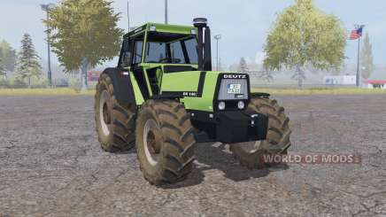 Deutz-Fahr DX 140 double wheels for Farming Simulator 2013