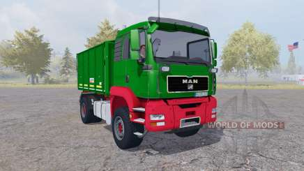 MAN TGA tipper Agroliner v4.0 for Farming Simulator 2013