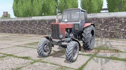 MTZ 82 Belarus with a choice of configurations for Farming Simulator 2017