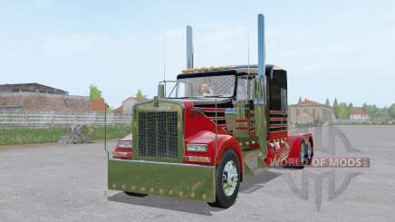 Kenworth W900L 6x6 for Farming Simulator 2017