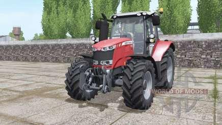 Massey Ferguson 6615 moving elements for Farming Simulator 2017