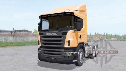 Scania R440 tractor normal cab for Farming Simulator 2017