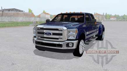 Ford F-350 King Ranch Crew Cab 2011 for Farming Simulator 2017