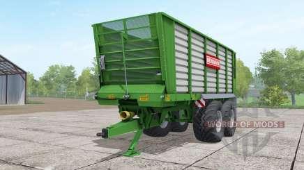 Bergmann HTW 35 lime green for Farming Simulator 2017