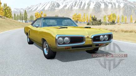 Dodge Coronet RT (WS23) 1970 v3.3 for BeamNG Drive