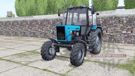 MTZ Belarus 82.1 bright blue for Farming Simulator 2017